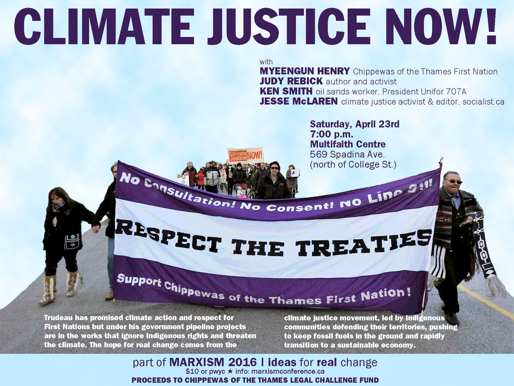 Climate Justice Now Socialist Ca