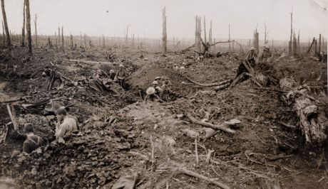Troops of the British Empire at the battle of the Somme, July 1916
