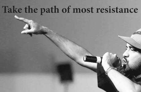 The path of most resistance