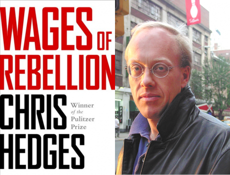 CHRIS HEDGES - PeaceWorks of Greater Brunswick, Maine