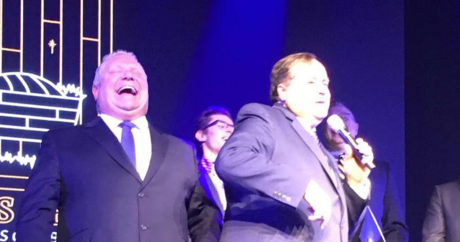 Doug Ford and Charles McVety - spot the bigot