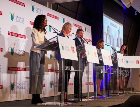 Mayoralty candidates debate in Toronto