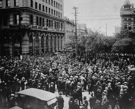 Winnipeg general strike.