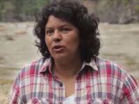 Berta Cáceres in 2015