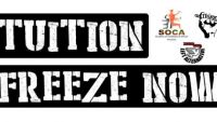 Tuition Freeze Now campaign