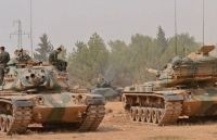 Turkish tanks invade Syria