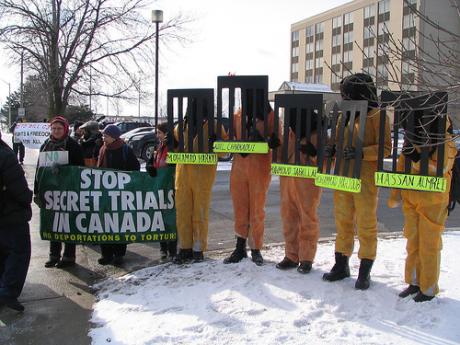 Stop Secret Trials in Canada