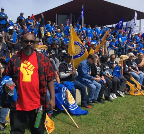 Toronto Steelworkers join solidarity action in Trois-Rivières