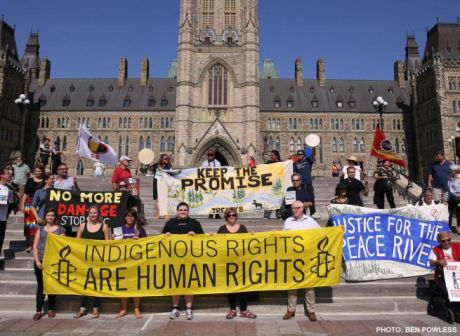 Photo by Ben Powless via Amnesty.ca