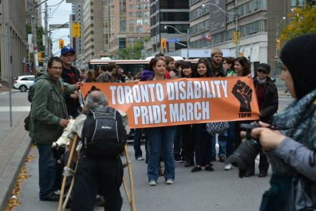 Toronto Disability Pride March