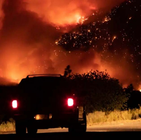 Wildfires and heat waves are the consequence of burning fossil fuels