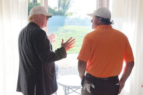 Trump and Mickelson - two white-collar criminals