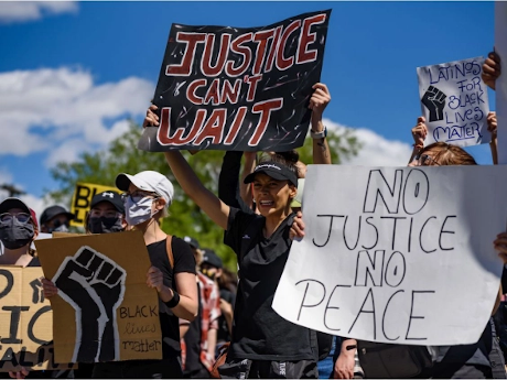 This protest in Calgary on June 3 would be illegal under the new law