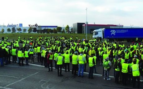 The yellow vest movement in France