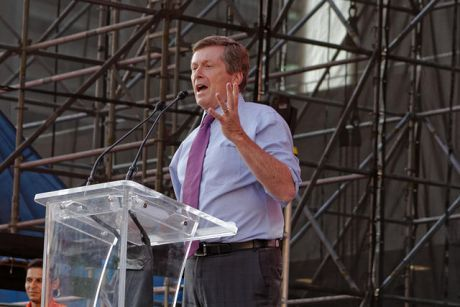 John Tory announces regressive road toll plan