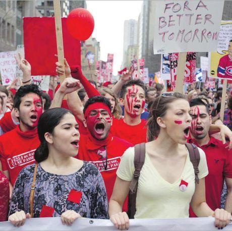 Quebec student strike