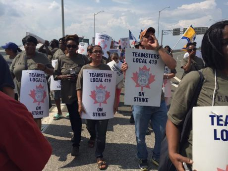 Teamsters local 419 fight for $15 an hour