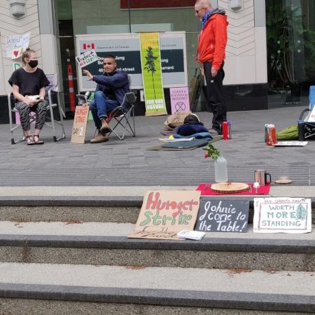 XR Vancouver hunger strike