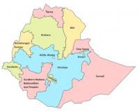 map ethiopia